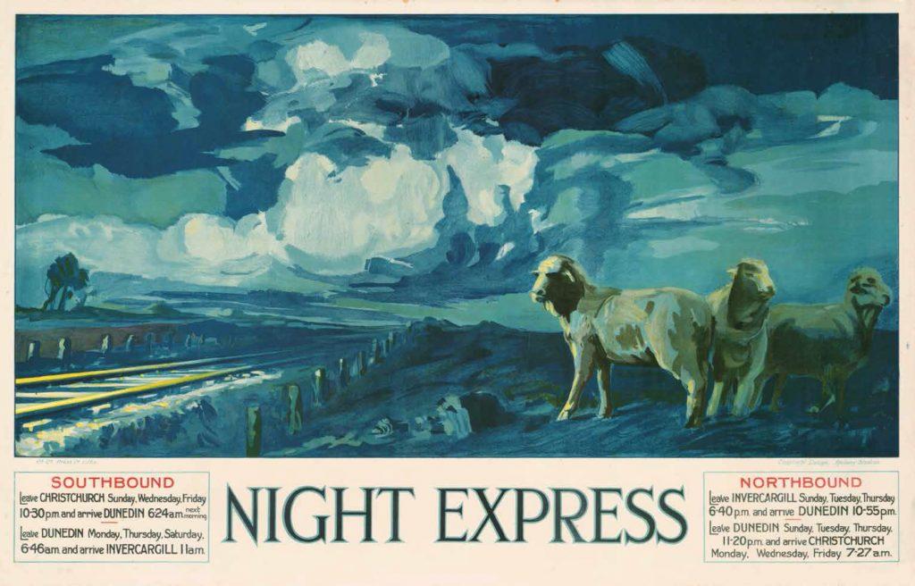 Night Express, circa 1929.