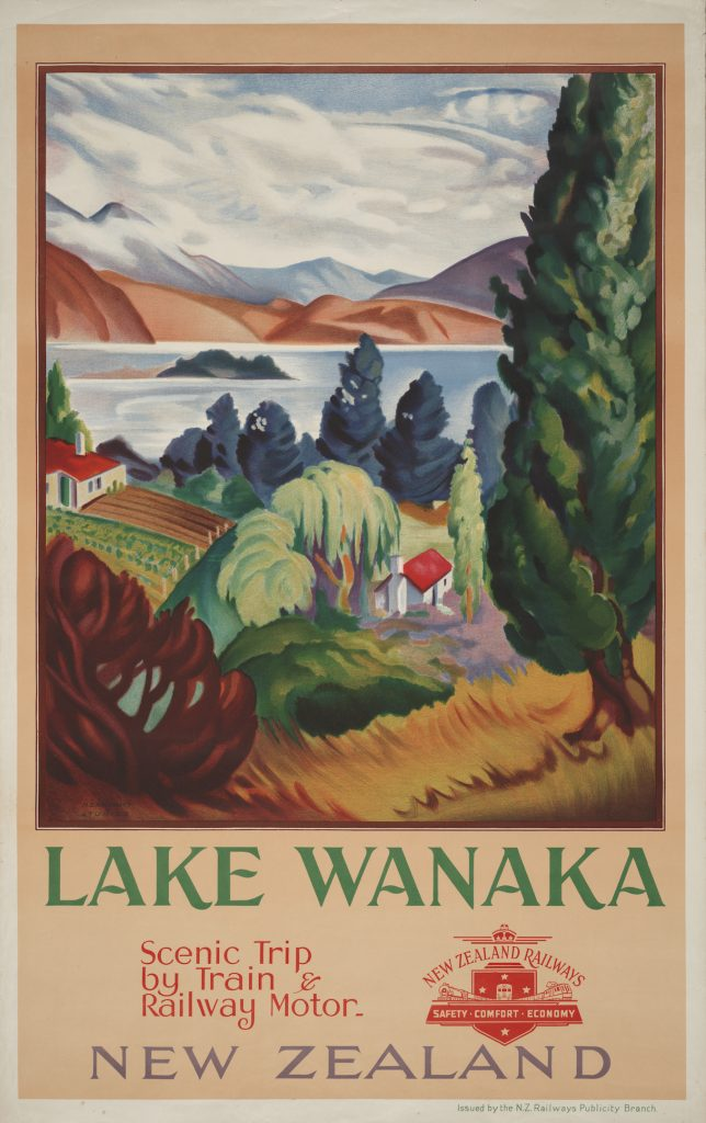 Lake Wānaka, 1938-39, John Holmwood.